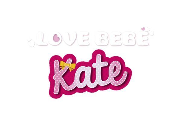 KATE FASHION SET - BAMBOLA CON VESTITI    LOVE BEBÈ