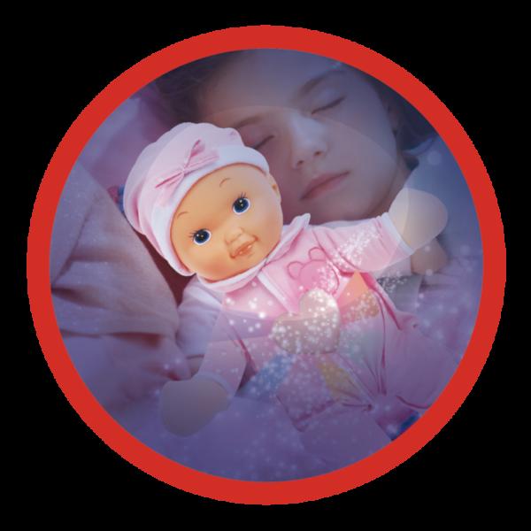 BABY SMILE  MELODY DOLL - BAMBOLA NANNA