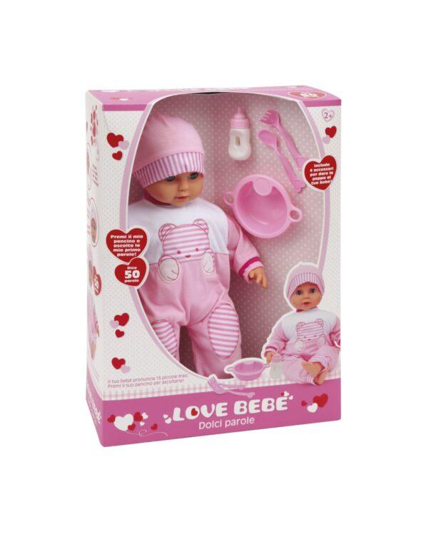 BEBE' DOLCI PAROLE LOVE BEBÈ Femmina 12-36 Mesi, 3-5 Anni, 5-8 Anni ALTRI