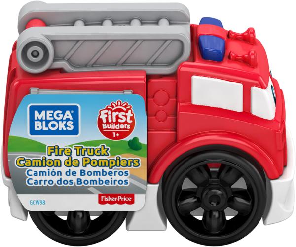 Mega Bloks- Veicoli Costruibili, da Collezionare, Assortimento Casuale, 1+Anni    MEGA BLOKS