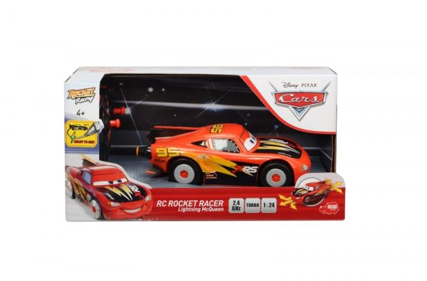 DICKIE - RC CARS SAETTA MC QUEEN ROCKET RACER IN SCALA 1:24