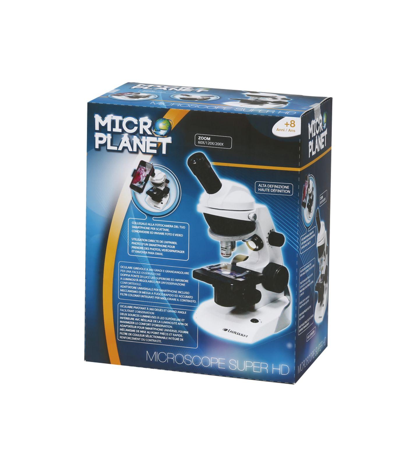 Microscopio digitale hd 360° - MICRO PLANET, MICROPLANET