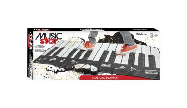 MAXI TAPPETONE PIANOFORTE - PIANO DANCE MAT MUSICSTAR