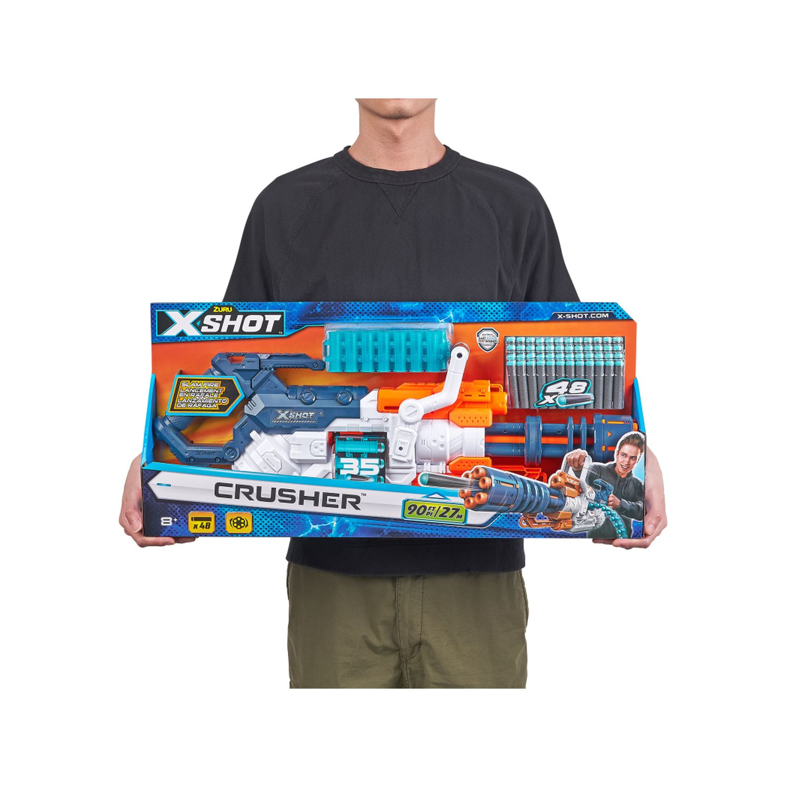 Fucile x-shot crusher - SUPERSTAR