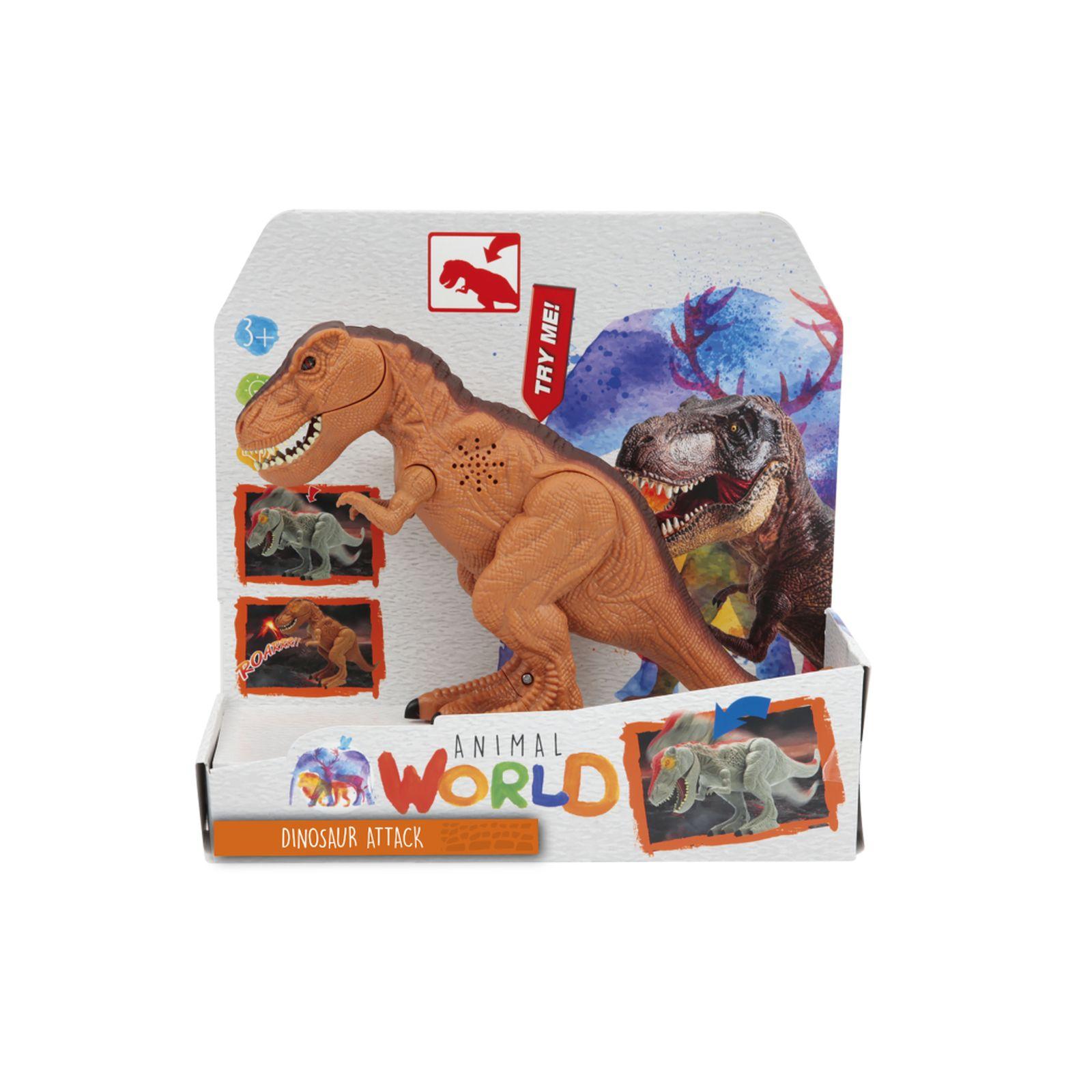 Dinosauro luci e suoni - ANIMAL WORLD