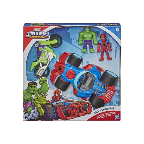 SUPER HERO ADVENTURE ACTION RACERS