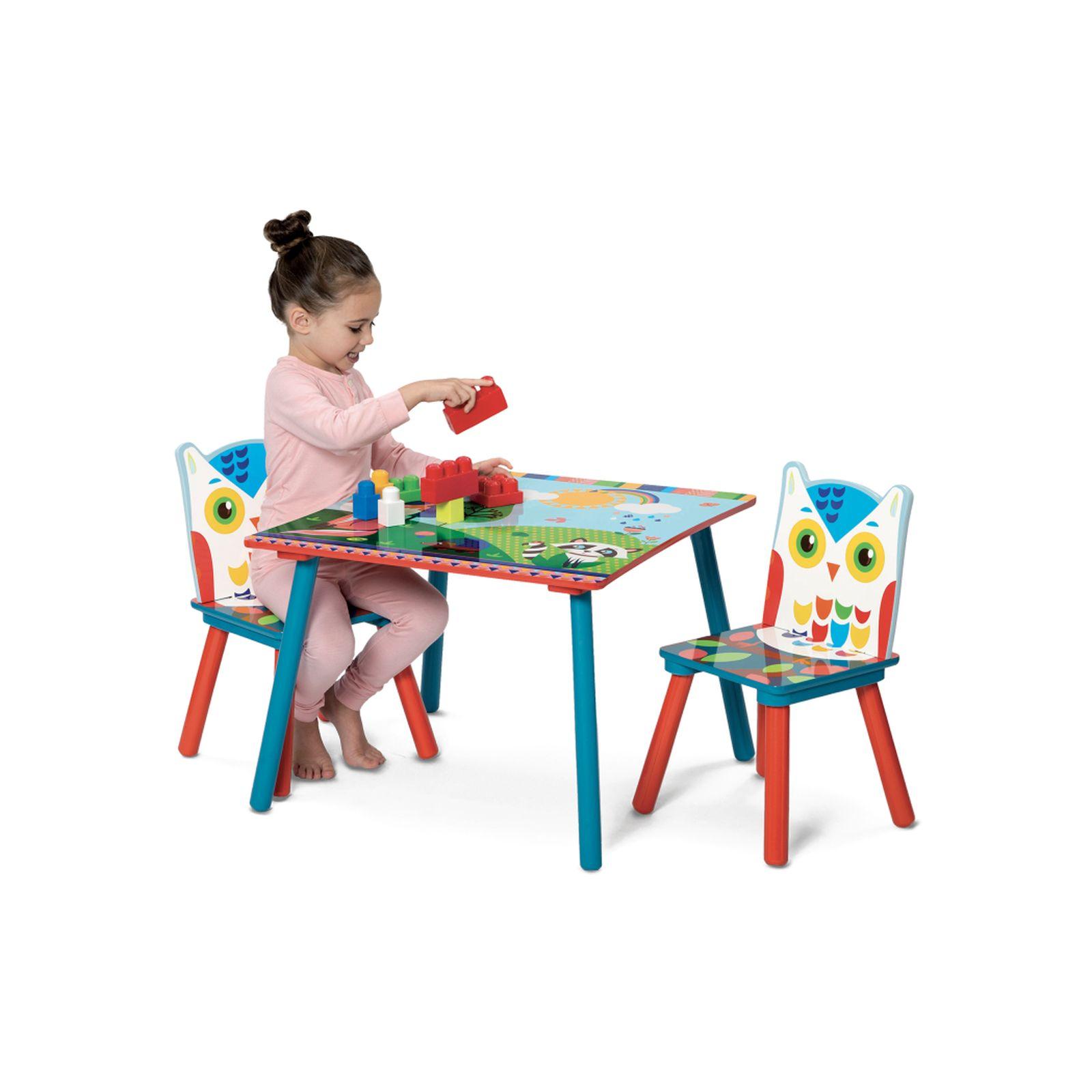 Tavole E Sedie In Legno Gufo Toys Center