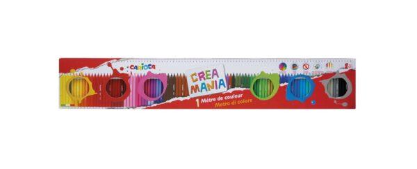 CREAMANIA 1 metro di Colore TOYS CENTER Unisex 12-36 Mesi, 12+ Anni, 3-5 Anni, 5-8 Anni, 8-12 Anni CREA MANIA