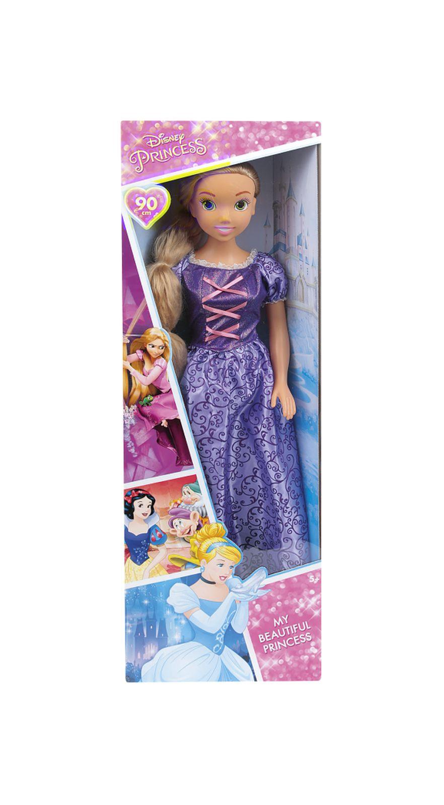 Bambola rapunzel 90cm - disney princess - PRINCIPESSE WALT DISNEY, RAPUNZEL