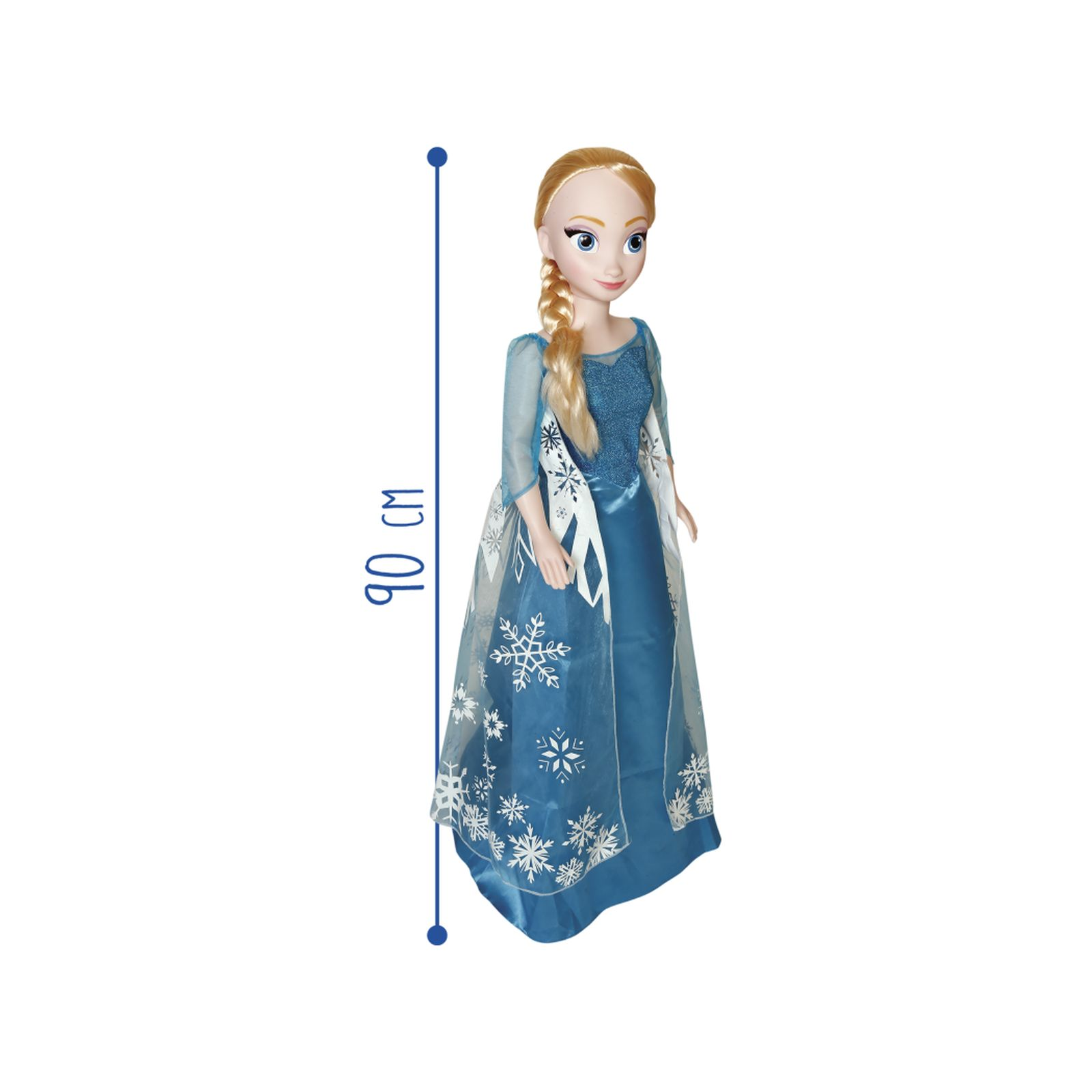 Bambola elsa 90cm - PRINCIPESSE WALT DISNEY