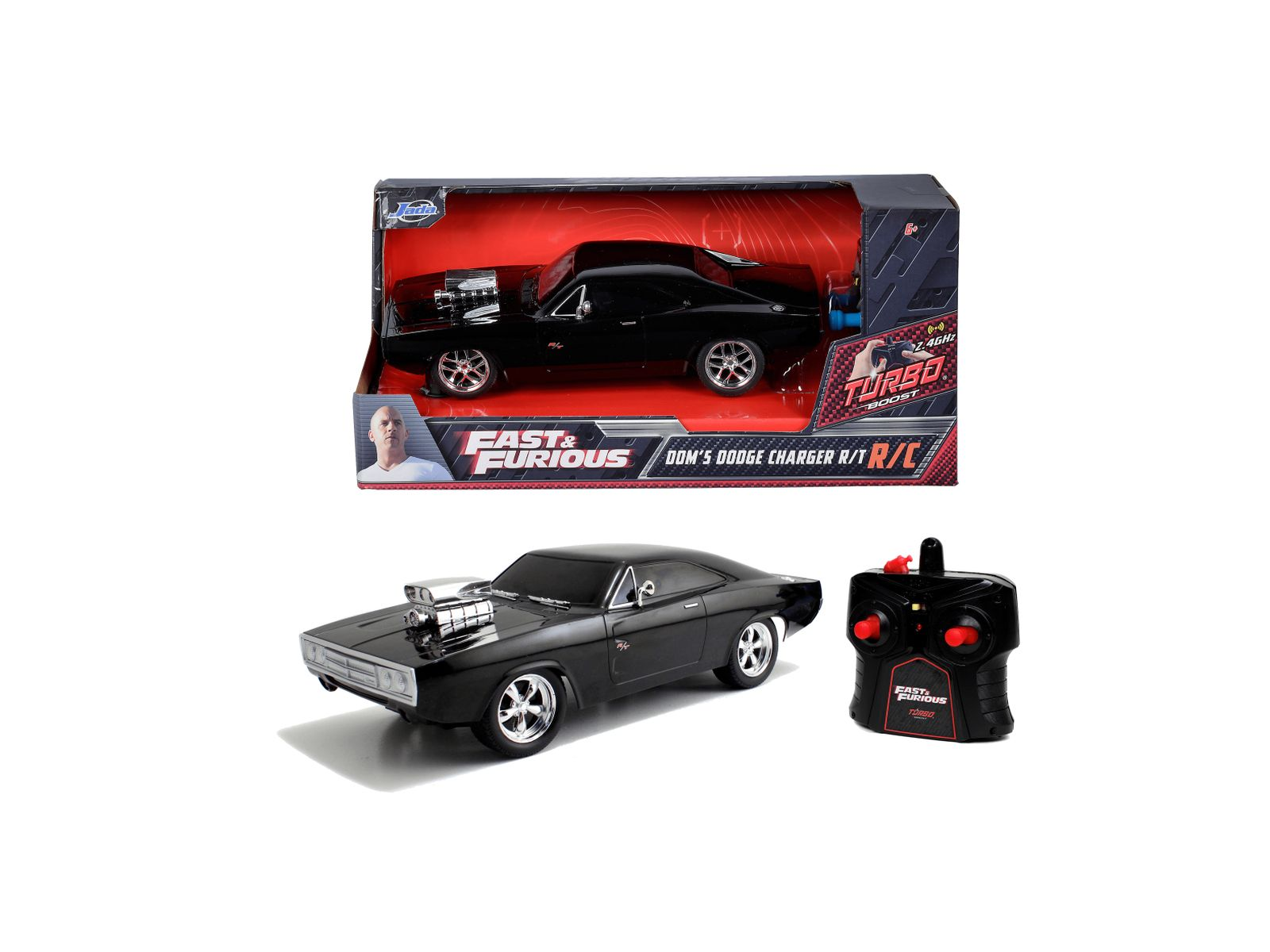 Fast&furious rc dodge charger del 1970 in scala 1:24 - JADA