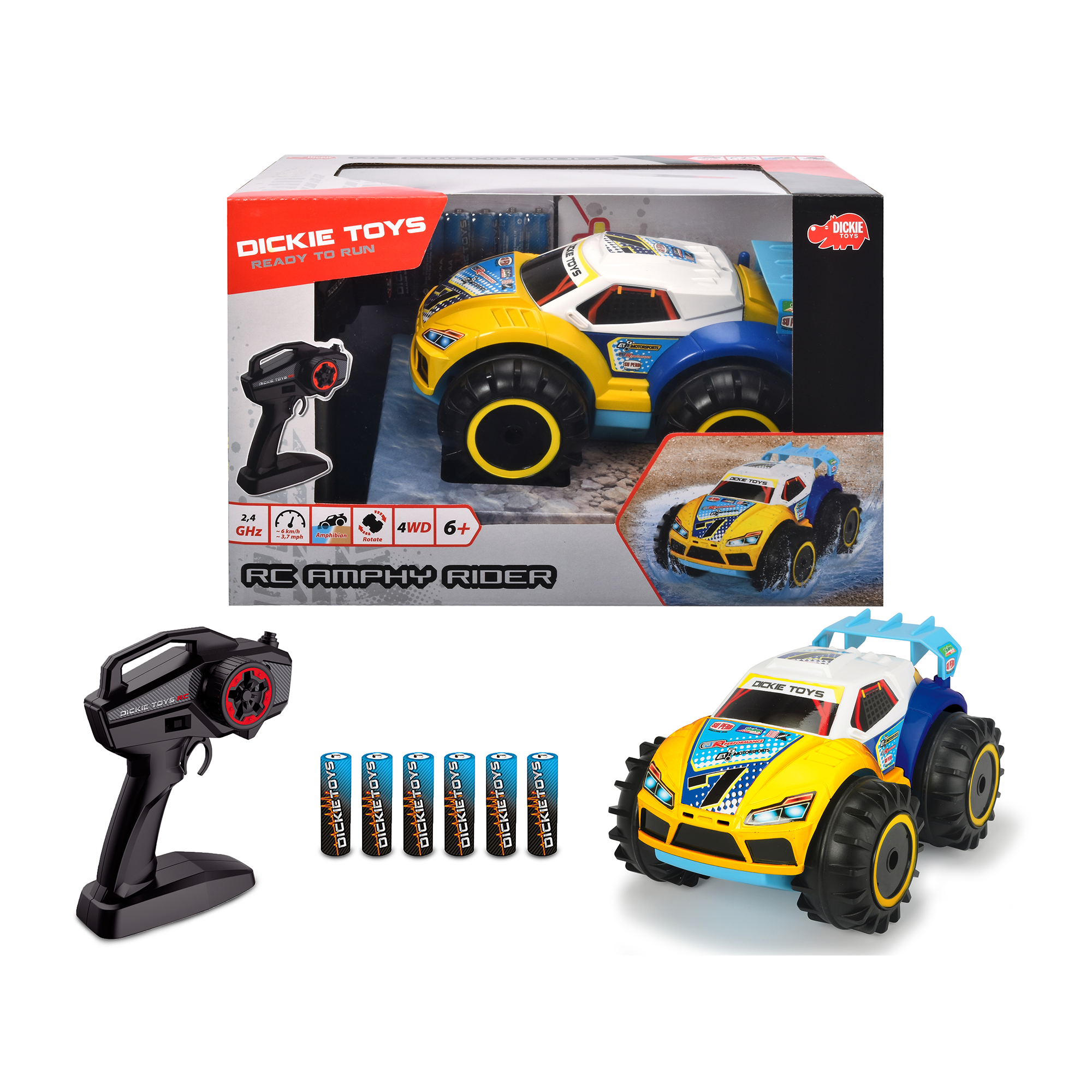 Auto r/c amphy rider - MOTOR&CO