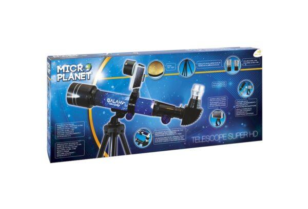 TELESCOPIO HD SMART ALTRI Unisex 12+ Anni, 8-12 Anni MICRO PLANET, MICROPLANET