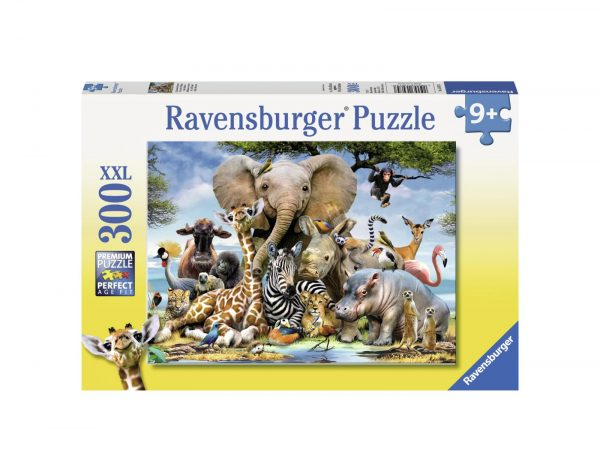 RAVENSBURGER - PUZZLE 300 PEZZI XXL - CUCCIOLI D'AFRICA Ravensburger1