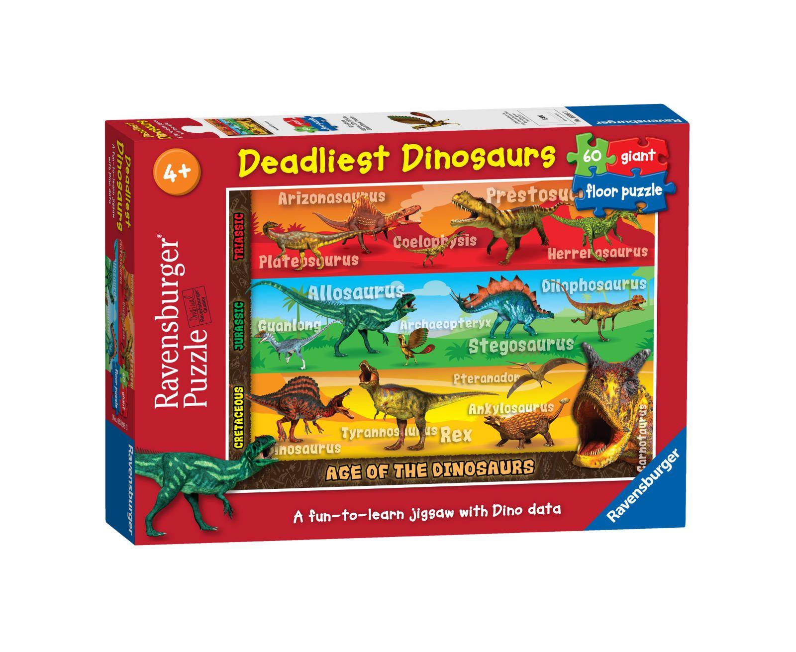 Ravensburger puzzle 60 pezzi giant dinosauri - Ravensburger1