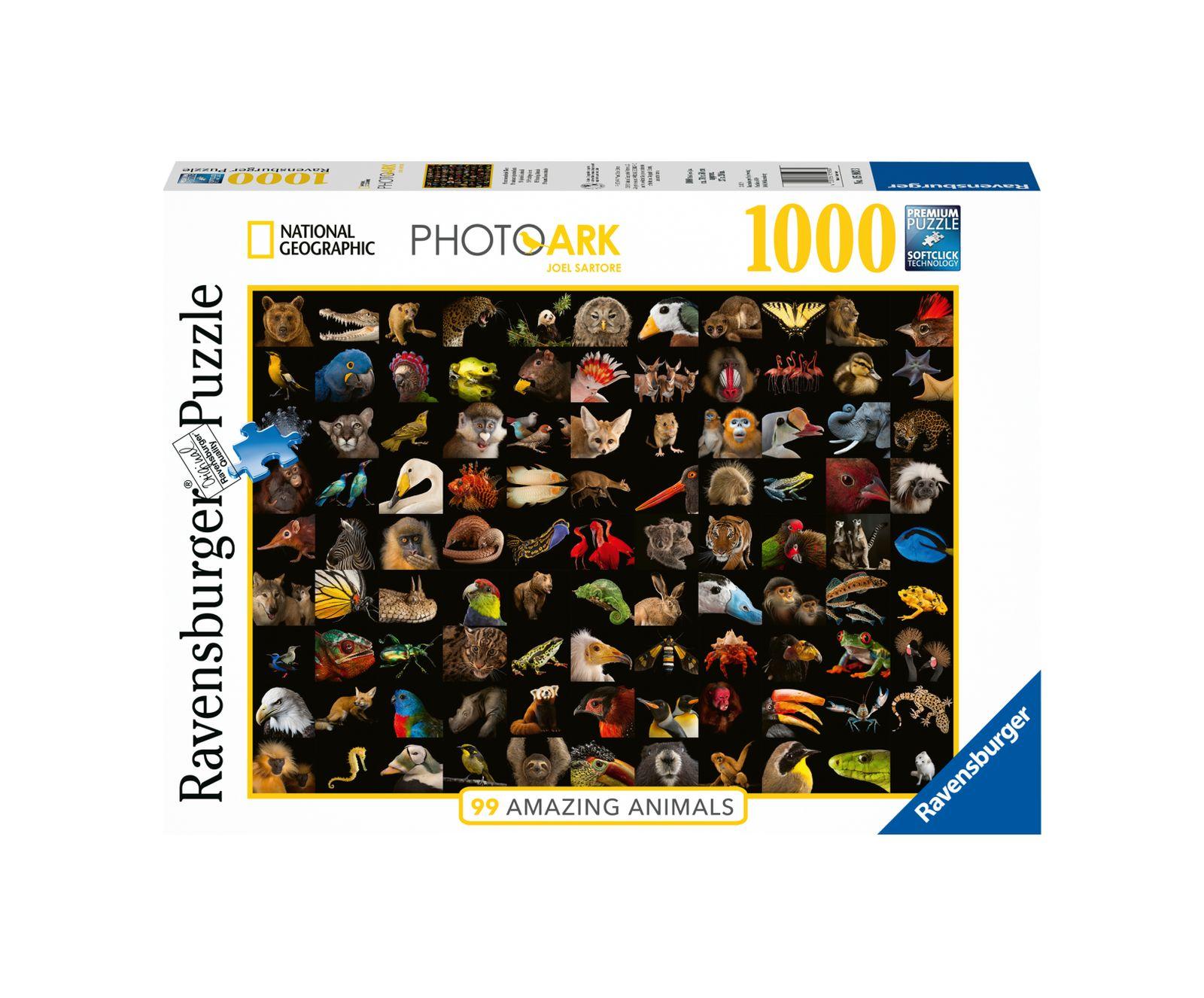Ravensburger puzzle 1000 pezzi - 99 splendidi animali - Ravensburger1