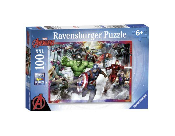 RAVENSBURGER - PUZZLE 100 PEZZI XXL - AVENGERS Ravensburger1
