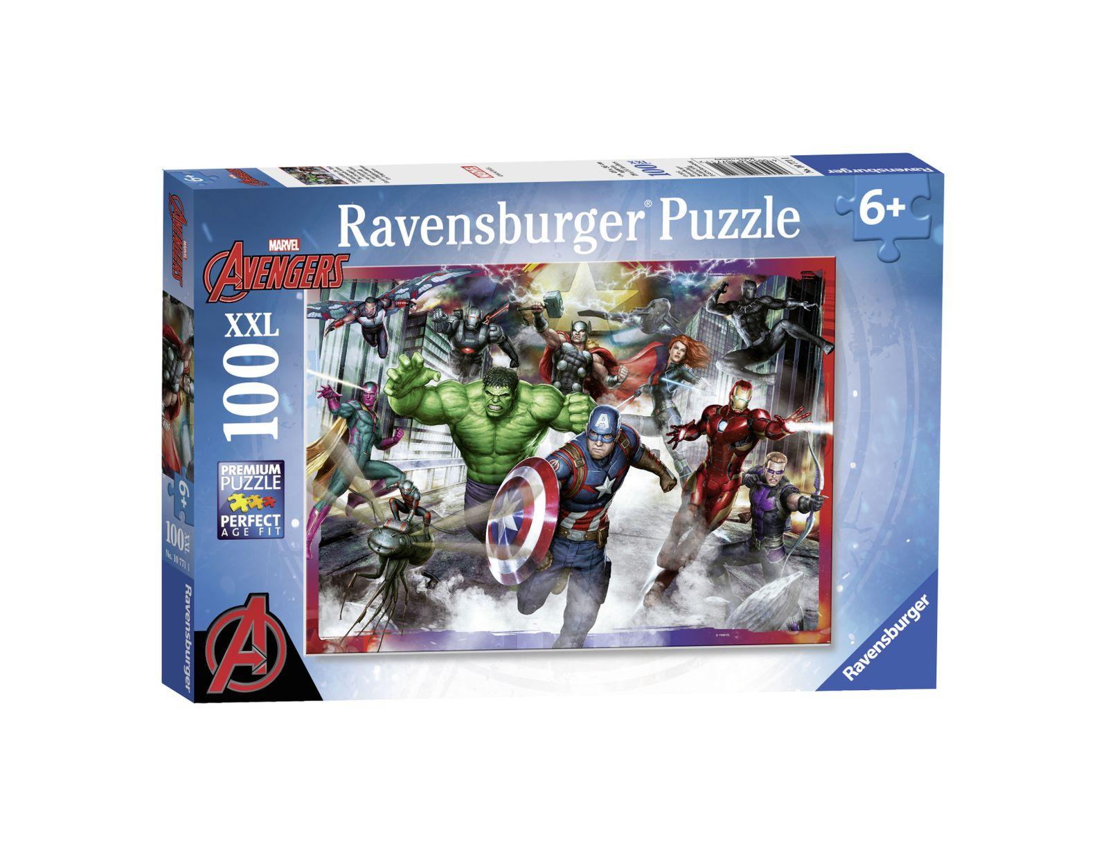 Ravensburger - puzzle 100 pezzi xxl - avengers - Ravensburger1