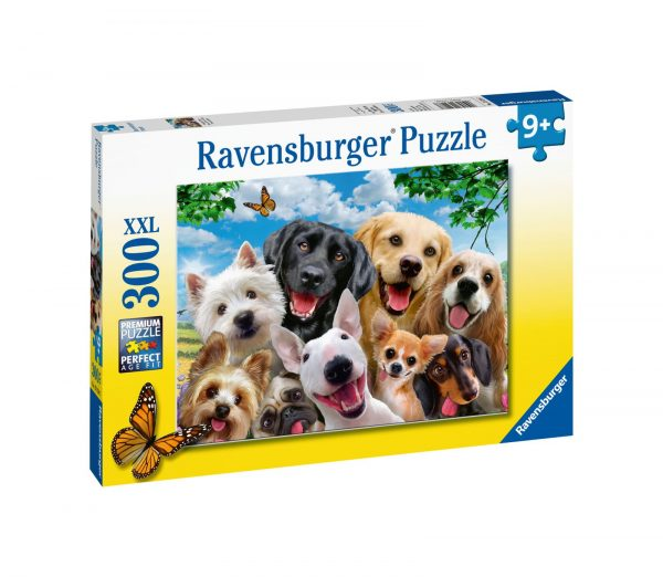 Ravensburger1  RAVENSBURGER - PUZZLE 300 PEZZI XXL - SELFIE CANINO