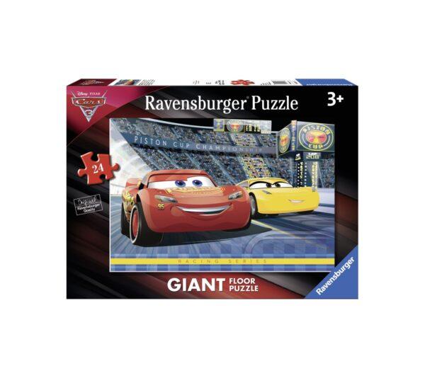RAVENSBURGER PUZZLE 24 PEZZI GIANT CARS Ravensburger1