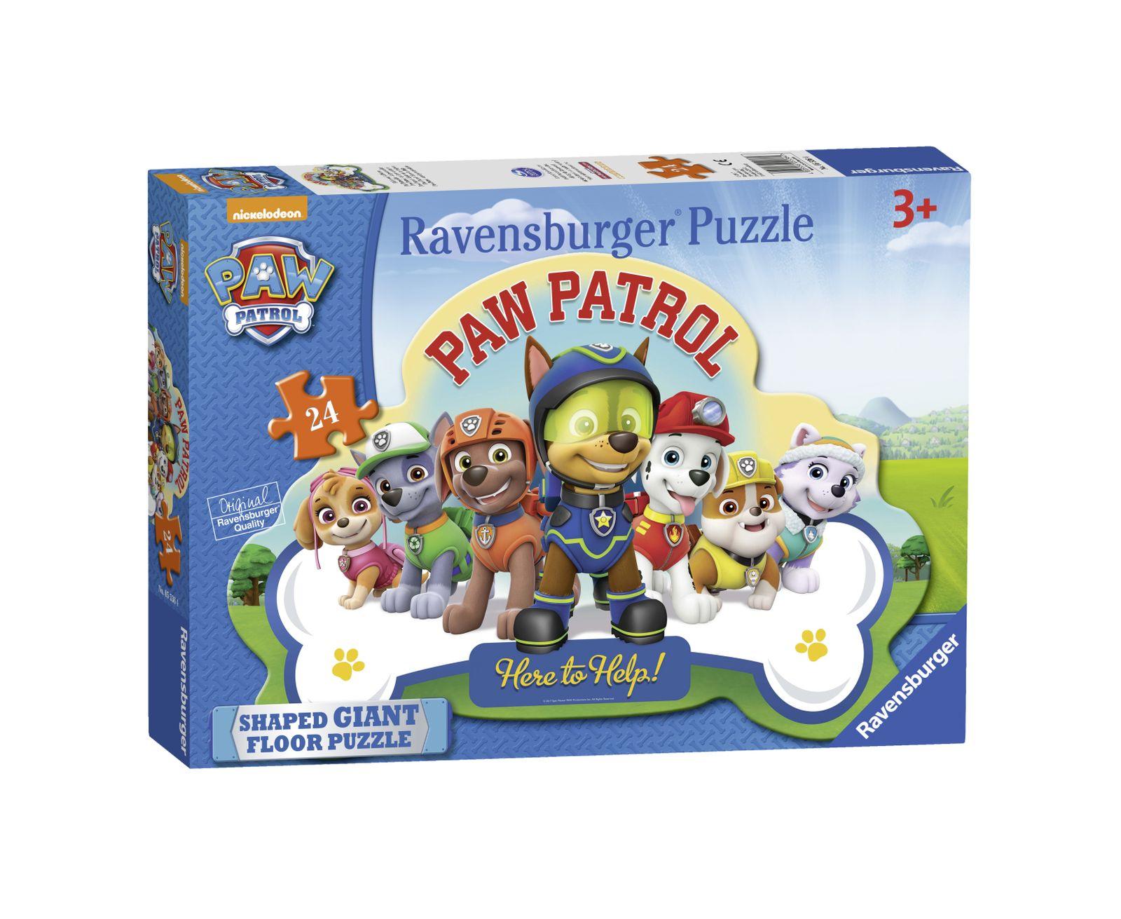 Ravensburger puzzle 24 giant pavimento - paw patrol - Ravensburger1