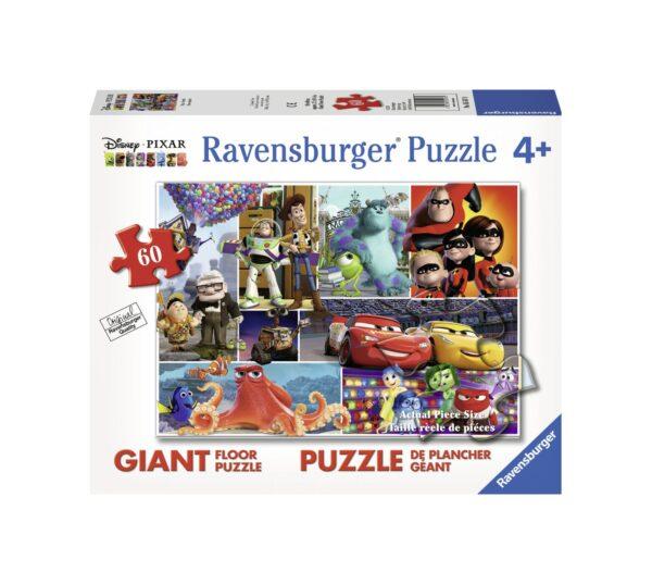 RAVENSBURGER PUZZLE 60 PEZZI GIANT DISNEY PIXAR Ravensburger1, Pixar