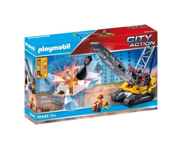 GRU CON BRACCIO DEMOLITORE Playmobil