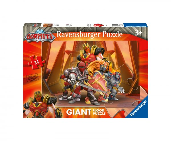 RAVENSBURGER PUZZLE 24 PEZZI GIANT GORMITI Ravensburger1