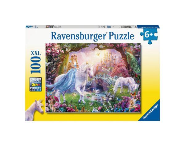 RAVENSBURGER - PUZZLE 100 PEZZI XXL - MAGICAL UNICORNS Ravensburger1