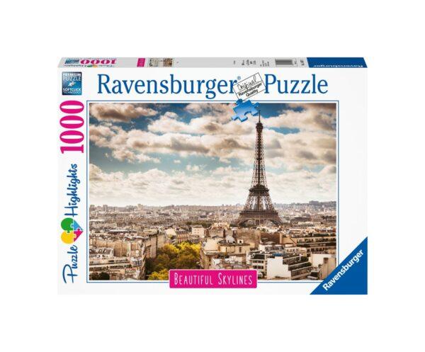 RAVENSBURGER PUZZLE 1000 PEZZI PARIS Ravensburger1