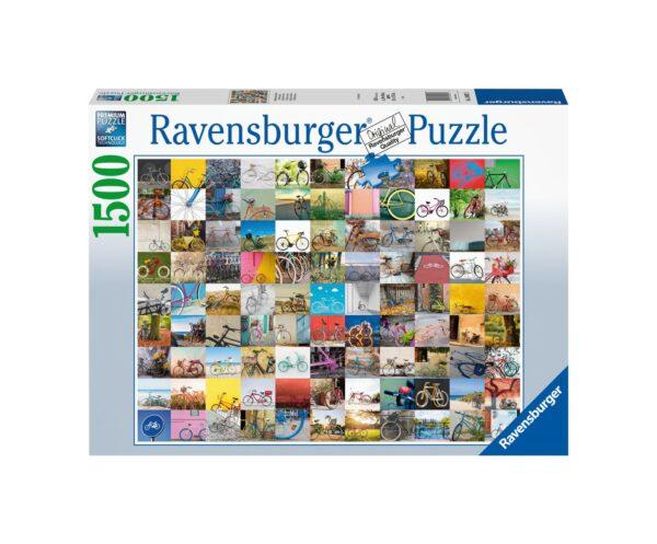 RAVENSBURGER PUZZLE 1500 PEZZI 99 BICICLETTE E ALTRO ... Ravensburger1