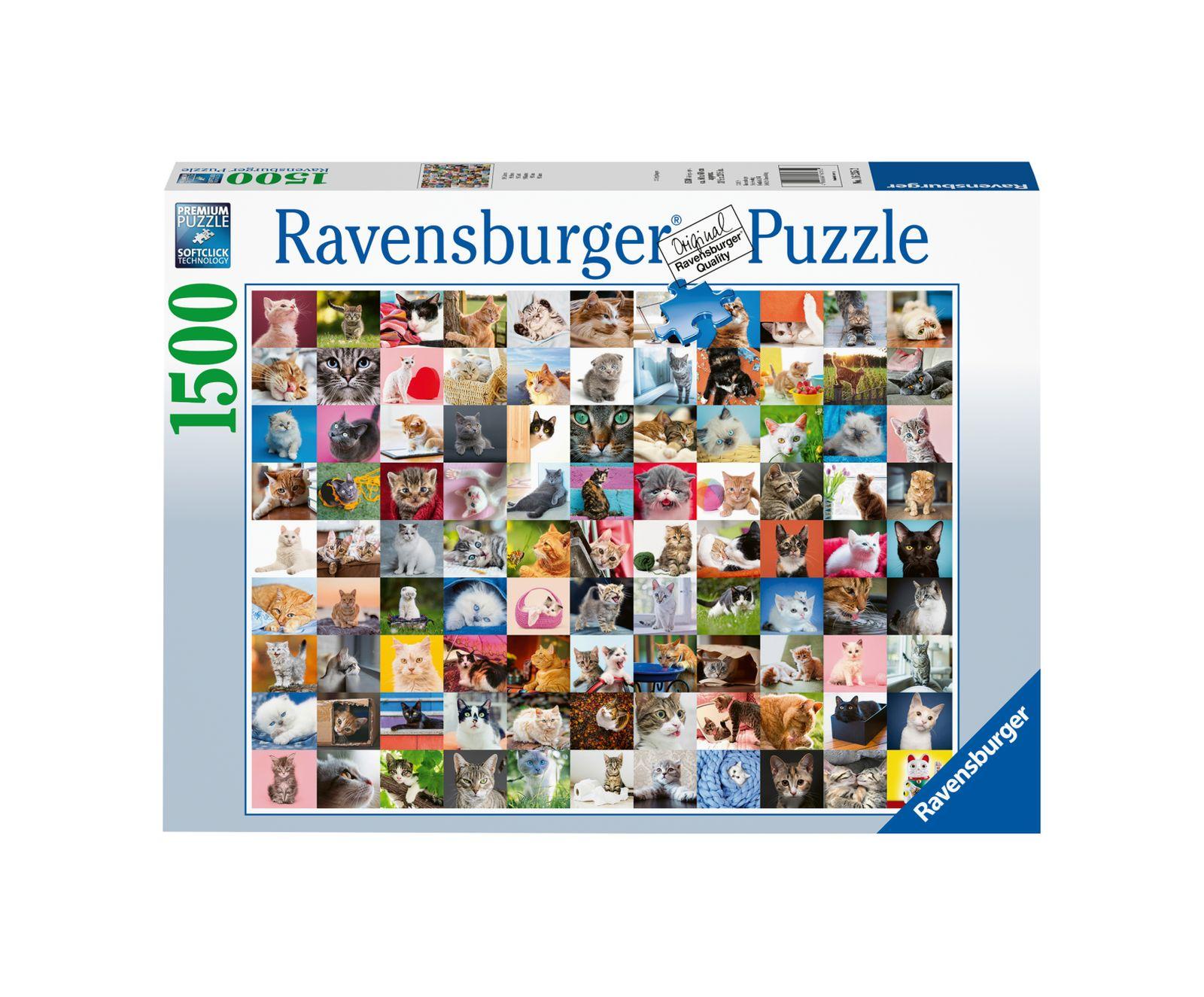 Ravensburger puzzle 1500 pezzi 99 gatti - Ravensburger1