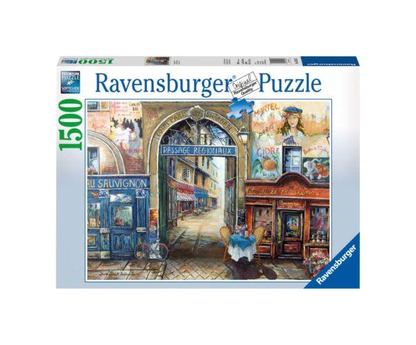 RAVENSBURGER PUZZLE 1500 PEZZI PASSAGGIO A PARIGI Ravensburger1