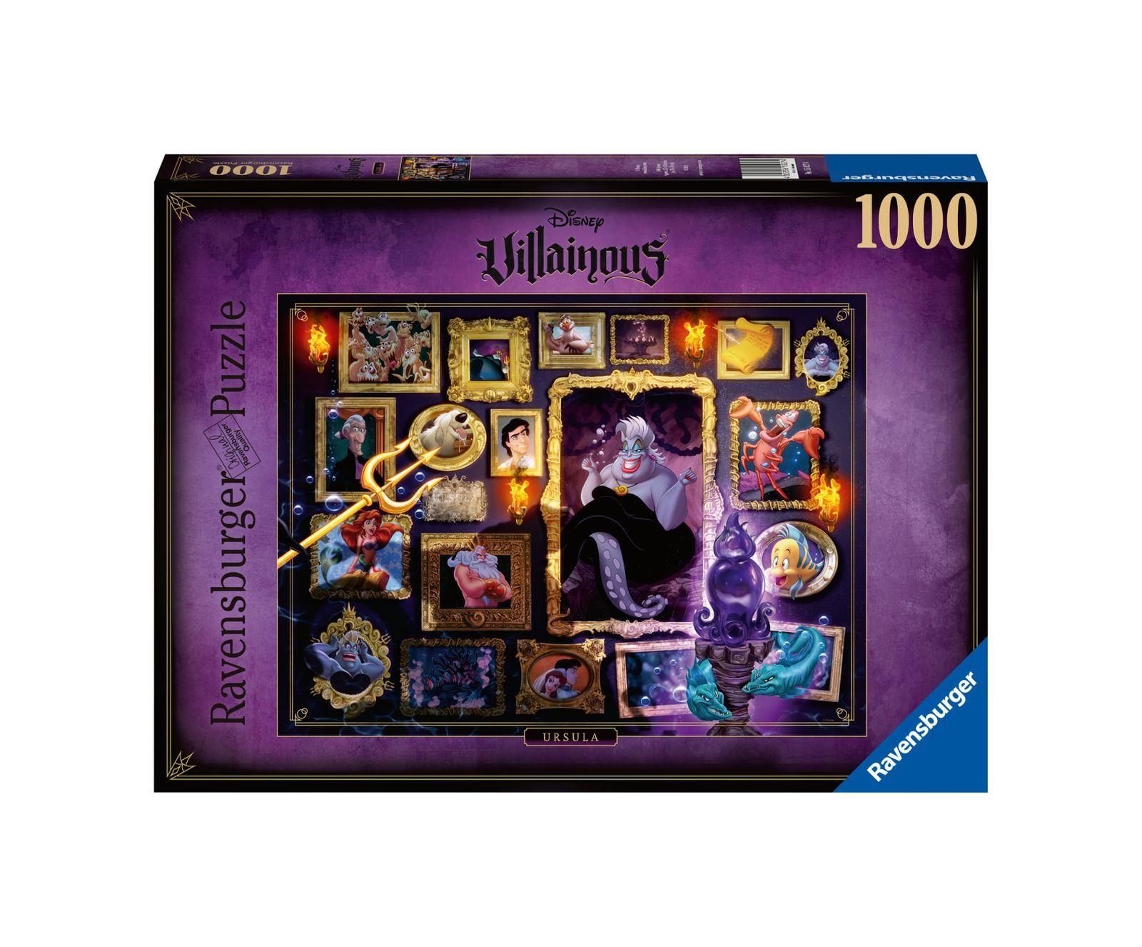 Ravensburger puzzle 1000 pezzi disney villainous medusa - Ravensburger1