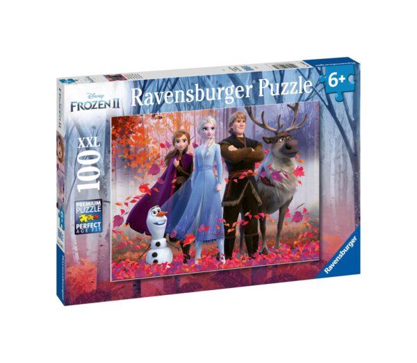 Ravensburger1  RAVENSBURGER - PUZZLE 100 PEZZI XXL - FROZEN 2