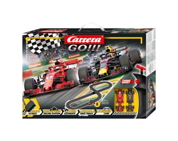 PISTA GO!!! - RACE TO WIN CARRERA