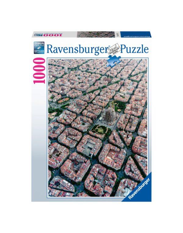 RAVENSBURGER PUZZLE 1000 PEZZI BARCELLONA Ravensburger1