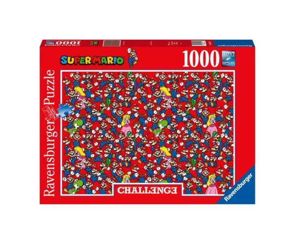 RAVENSBURGER PUZZLE 1000 PEZZI CHALLENGE SUPER MARIO Ravensburger1, Super Mario
