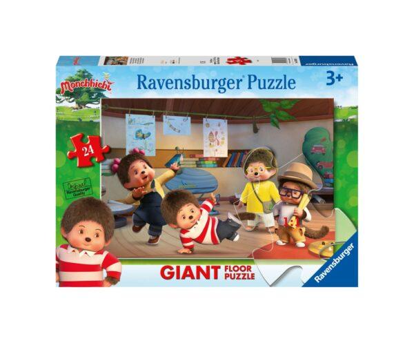 RAVENSBURGER PUZZLE 24 PEZZI GIANT MONCHHICHI Ravensburger1