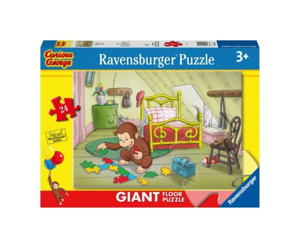 RAVENSBURGER PUZZLE 24 PEZZI GIANT GEORGE Ravensburger1