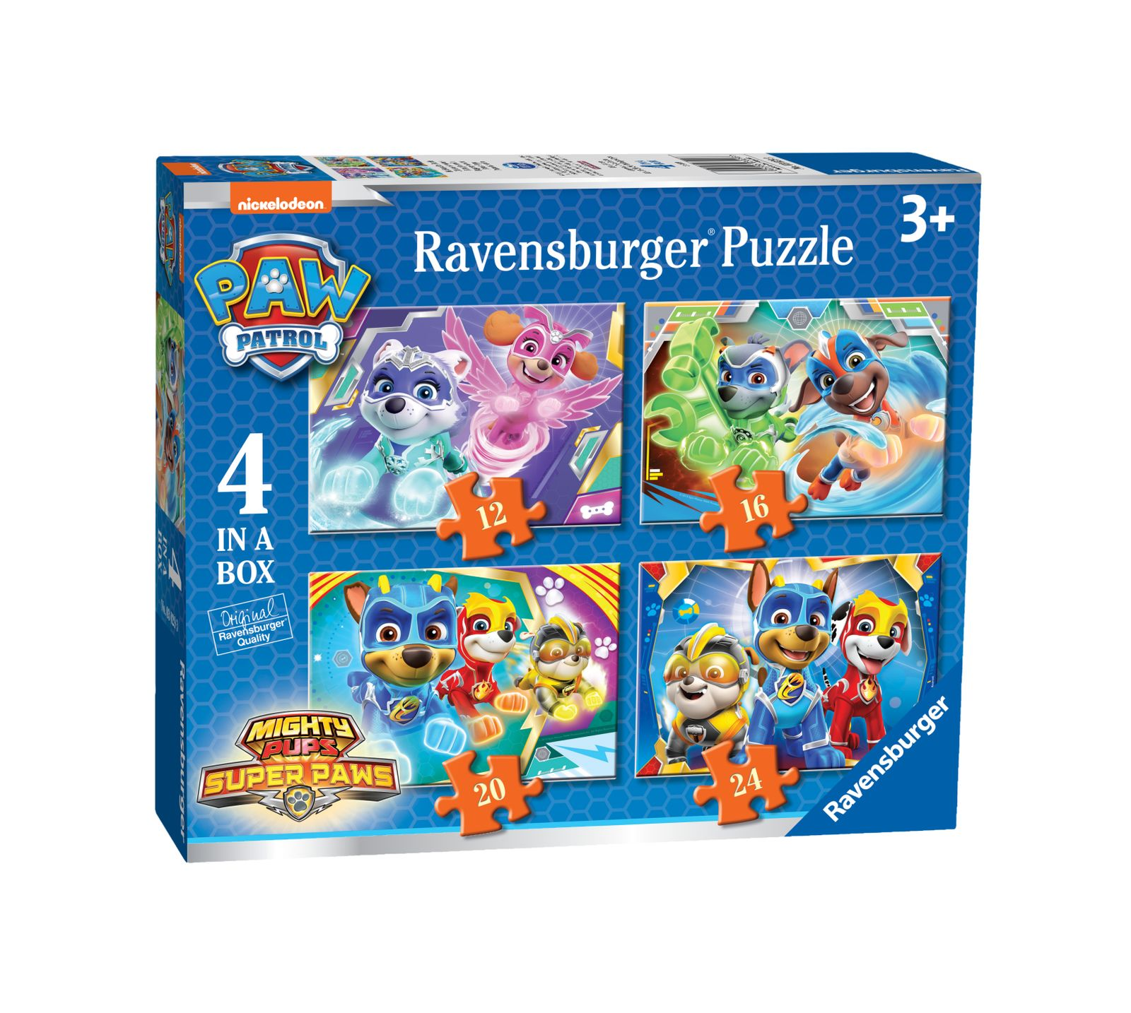 Ravensburger - 4 in a box - paw patrol - Ravensburger1