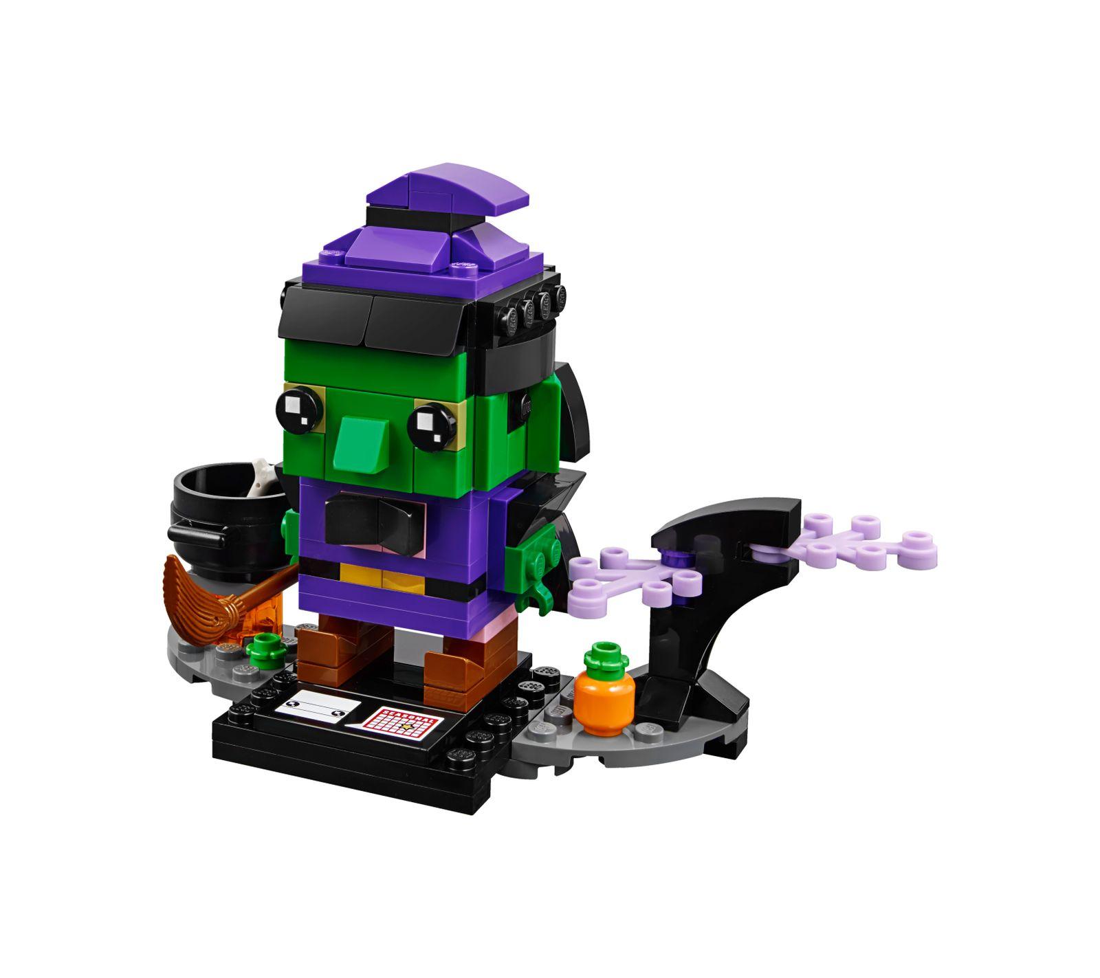 Strega di halloween - LEGO BRICKHEADZ