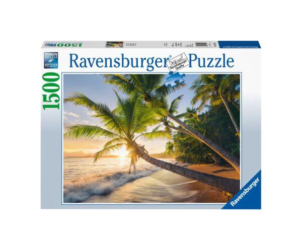 RAVENSBURGER PUZZLE 1500 PEZZI SPIAGGIA SEGRETA Ravensburger1