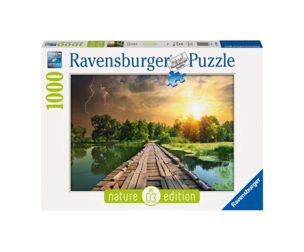 RAVENSBURGER PUZZLE 1000 PEZZI LUCE MISTICA Ravensburger1