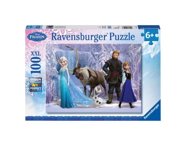 RAVENSBURGER - PUZZLE 100 PEZZI XXL - FROZEN A Ravensburger1