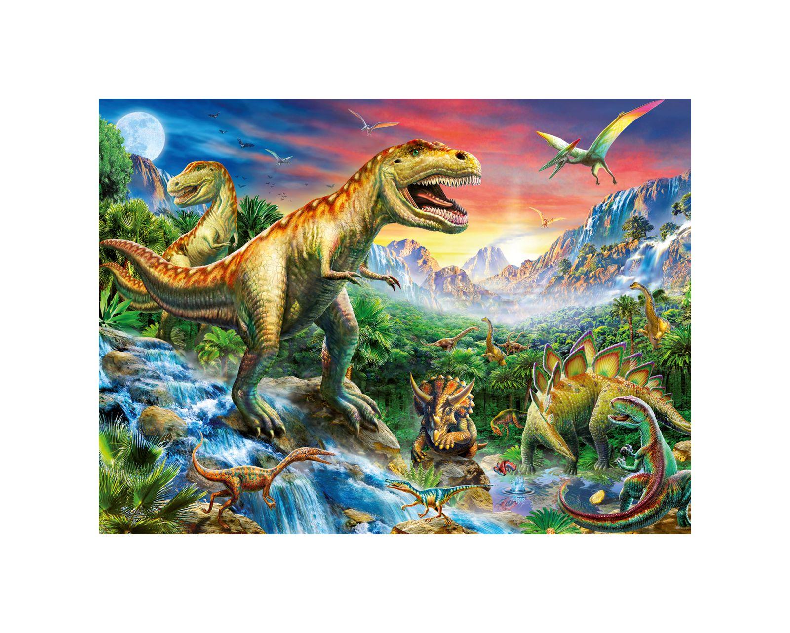 Ravensburger - puzzle 100 pezzi xxl - l'era dei dinosauri - Ravensburger1