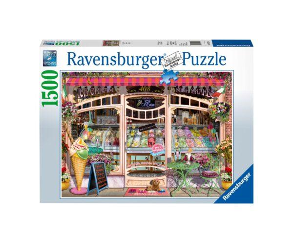 RAVENSBURGER PUZZLE 1500 PEZZI GELATERIA Ravensburger1