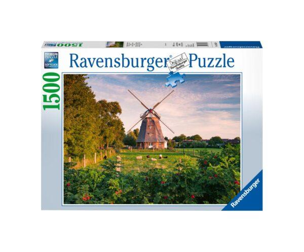 RAVENSBURGER PUZZLE 1500 PEZZI MULINI A VENTO SUL MAR BALTICO Ravensburger1