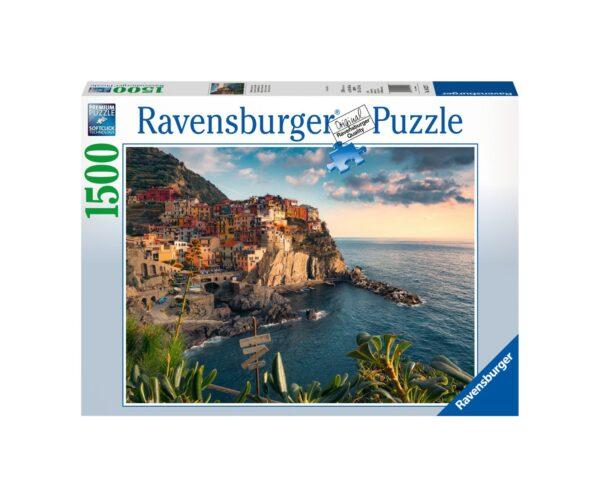 RAVENSBURGER PUZZLE 1500 PEZZI VISTA DELLE CINQUE TERRE Ravensburger1