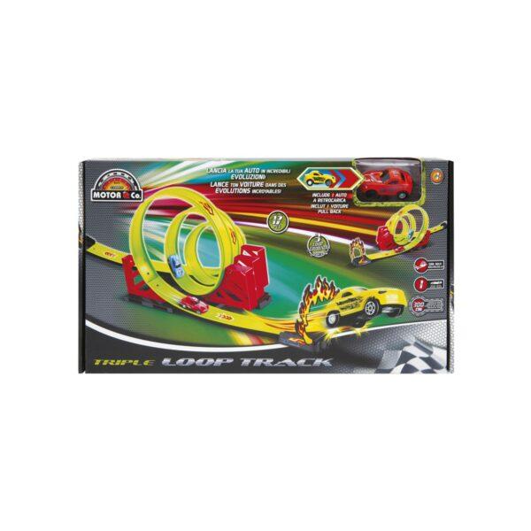 PISTA TRIPLE-LOOP TRACK    MOTOR&CO